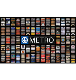 Blanket - Métro Stations by Jesse Riviere