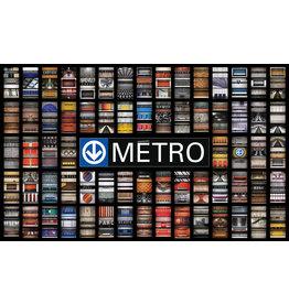 Couverture - STATIONS METRO MONTREAL par JESSE RIVIERE