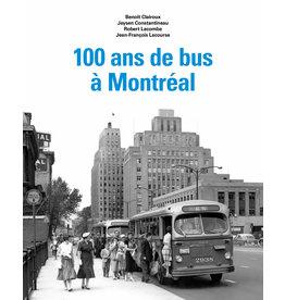 LIVRE 100 ANS DE BUS À MONTRÉAL