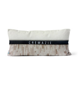 "PILLOW - Crémazie / Jarry   10"" x 20"""