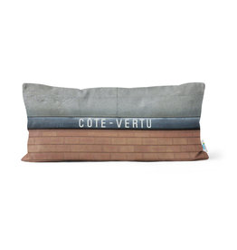 Pillow - Côte-Vertu station