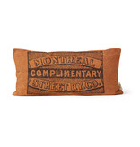 "PILLOW - Complimentary Montreal street RY co.   10"" X 20"""