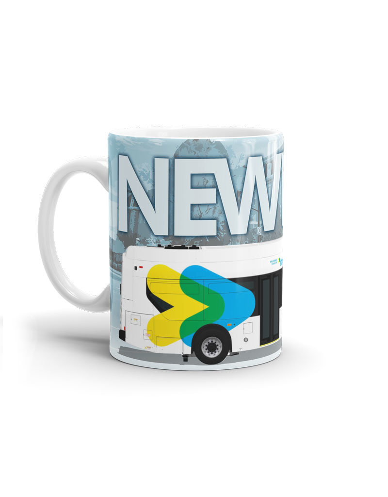 Cup 11oz - New Flyer Xcelsior Bus