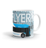 TASSE 11oz - Autobus New Flyer Xcelsior