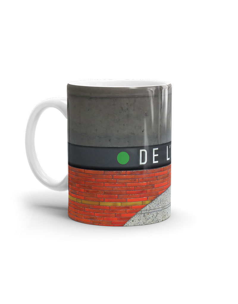 TASSE - De l'Église station 11oz
