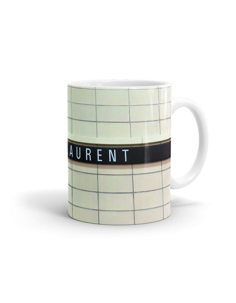 CUP - Saint-Laurent  station 11oz