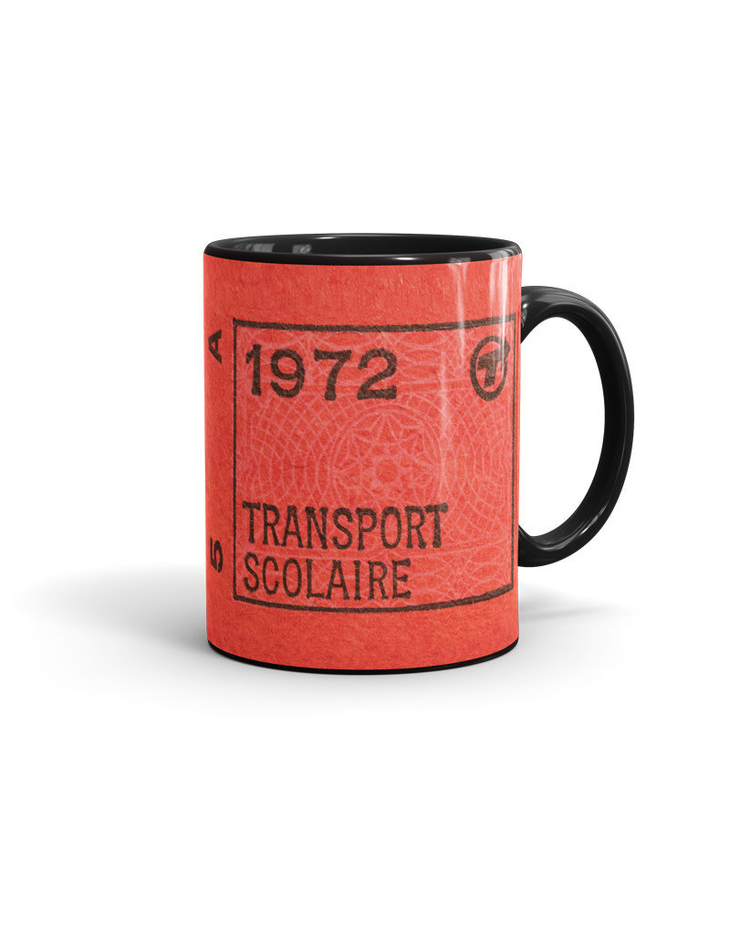 CUP 11oz black - Transport scolaire