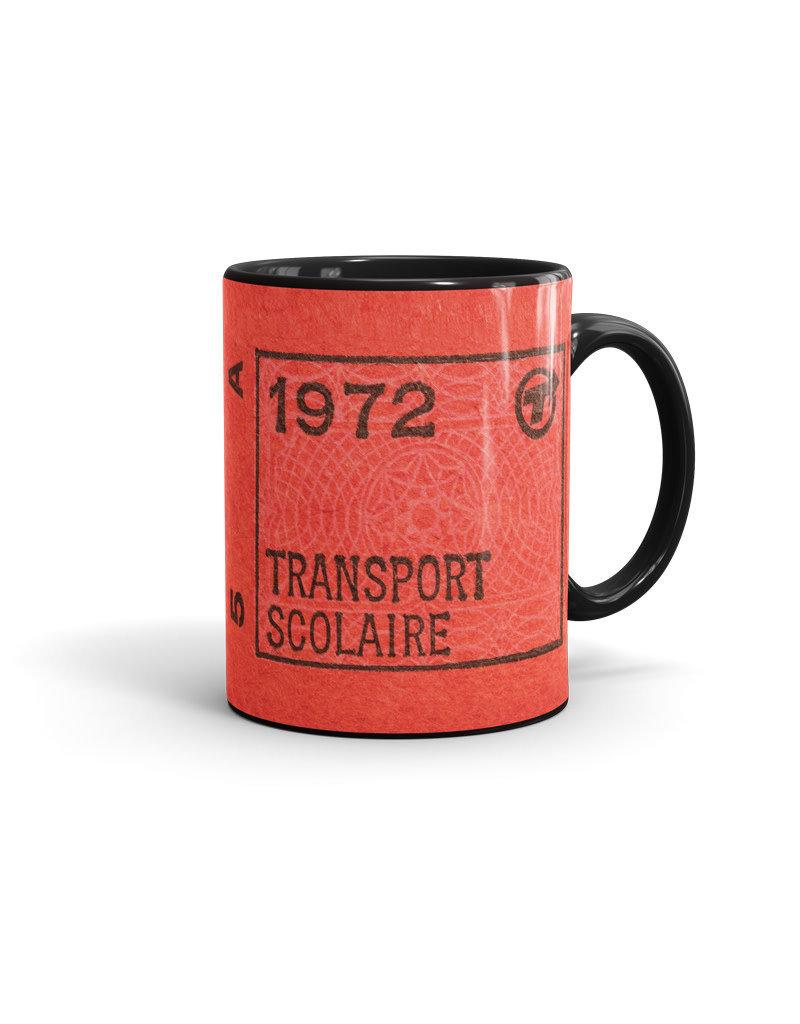 TASSE noir 11oz - Transport scolaire