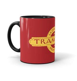 TASSE 11oz noir  - CIE de tramways de Montréal