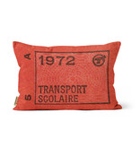 """COUSSIN - Transport scolaire 1972    12"""" x 18"""""""