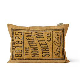 "PILLOW - The Montreal Street RY co. - 891825    12"" x 18"""