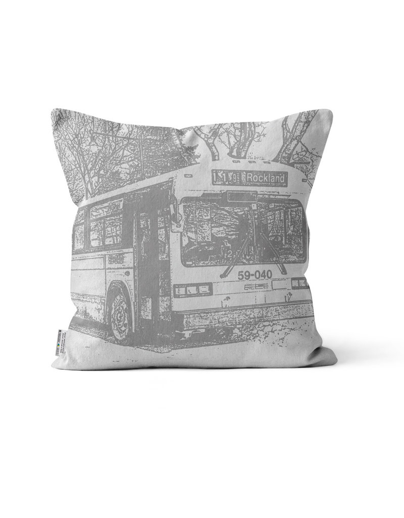 PILLOW- GM Classic bus  #45 Papineau