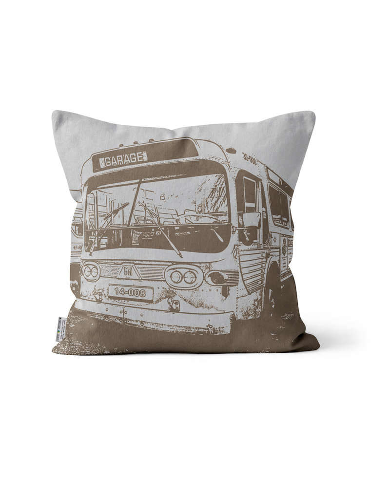 COUSSIN - Autobus New Look  brun 14x14 - #97 Mont-Royal