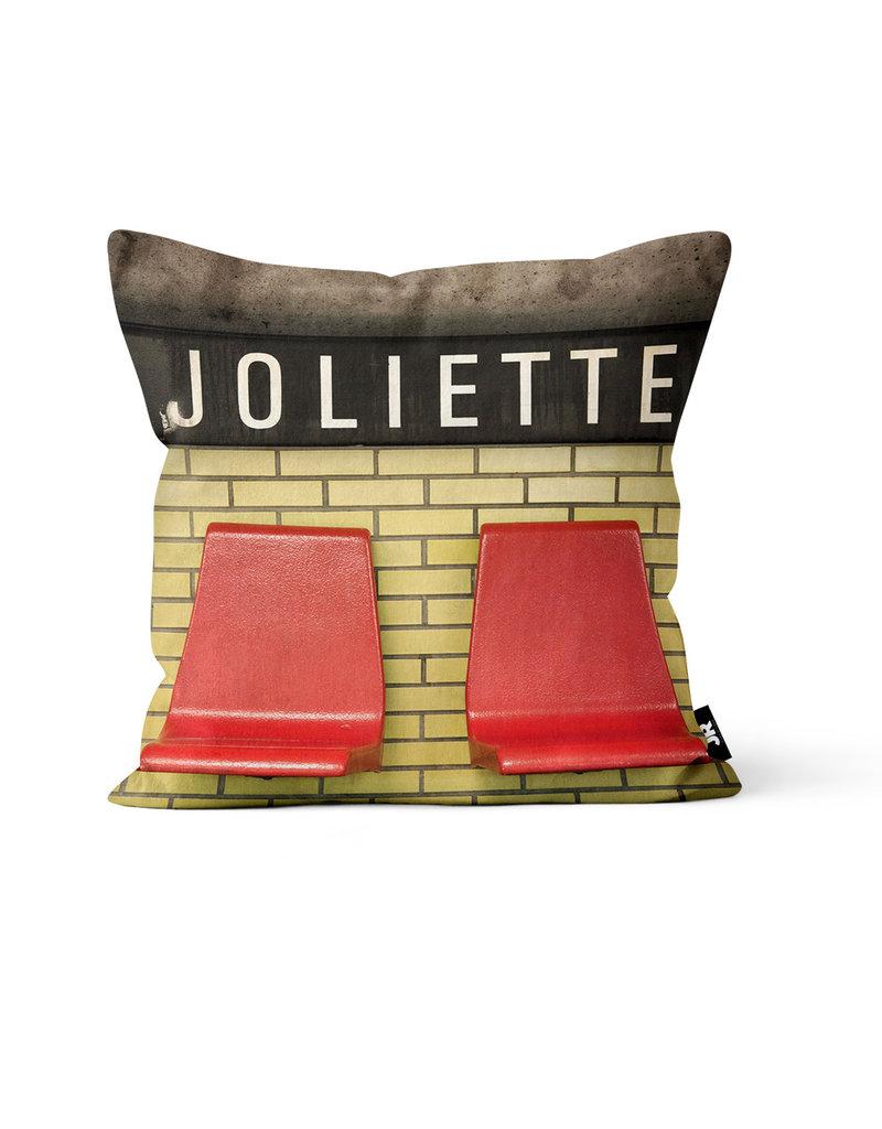 "Pillow - Joliette (Jesse Riviere)  14"" x 14"""