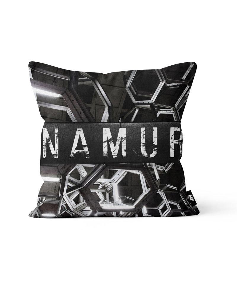 "Pillow - Namur (Jesse Riviere)  16"" x 16"""
