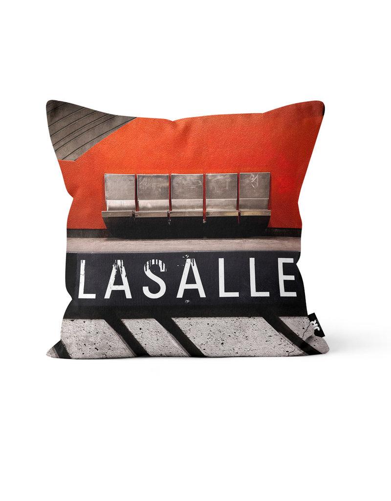 "Coussin - Lasalle (Jesse Riviere)  16"" x 16"""