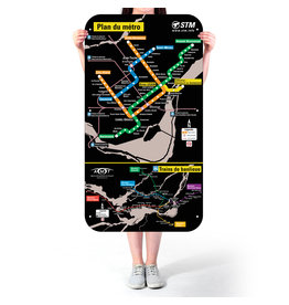 Official Montreal Metro map - 2003 version