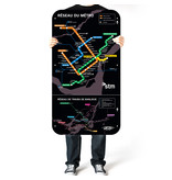 Official Montreal Metro map - 2012 version