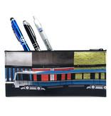 Étui à crayons - Azur multi-stations