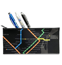 Pencil case - Metro map / Logo