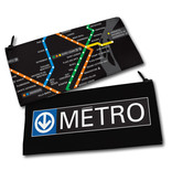Pencil case - Metro map / Logo