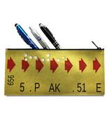 Étui à crayons - Billet de correspondance