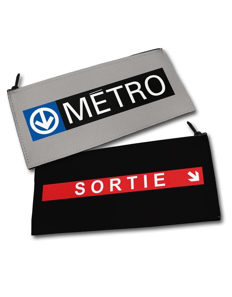 Pencil case - Metro logo / Sortie