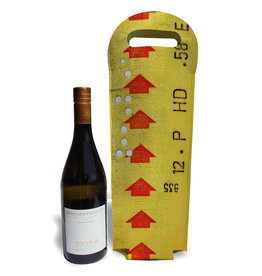 Wine tote - Yellow transfer ticket