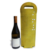 Wine tote - Yellow transfer ticket