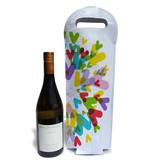 Wine tote - Chevrons