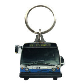 KEYCHAIN - Nova BUS (55 St-Laurent)