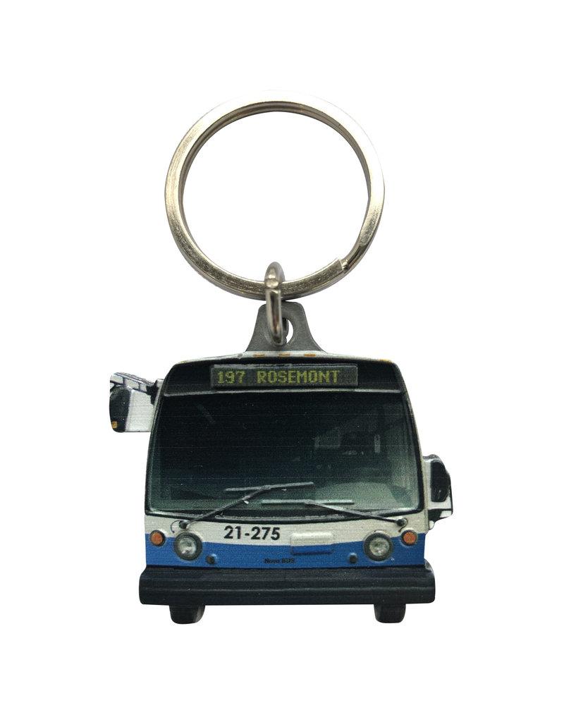 PORTE CLÉS - Nova BUS (197 Rosemont)