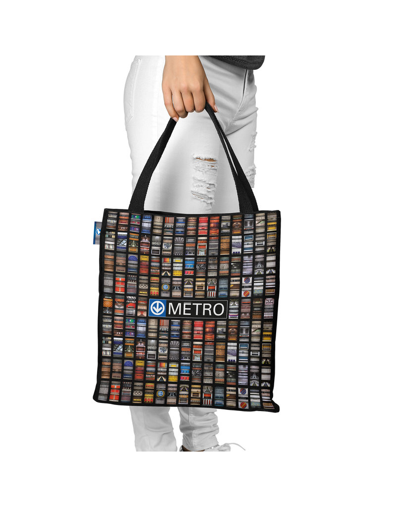 Sac en toile Deluxe - STATIONS METRO JESSE RIVIERE