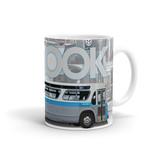 TASSE 11oz - Autobus New Look bleu profile