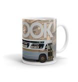 TASSE 11oz - Autobus New Look brun profile