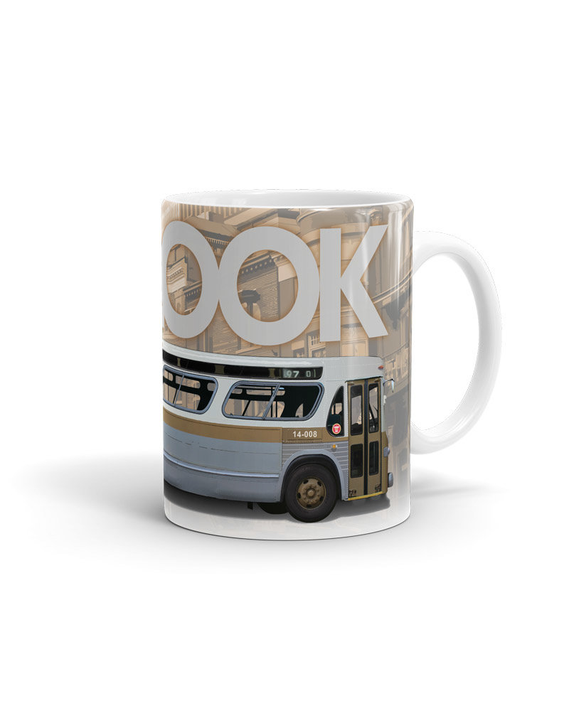 Cup - New Look brown bus 11oz