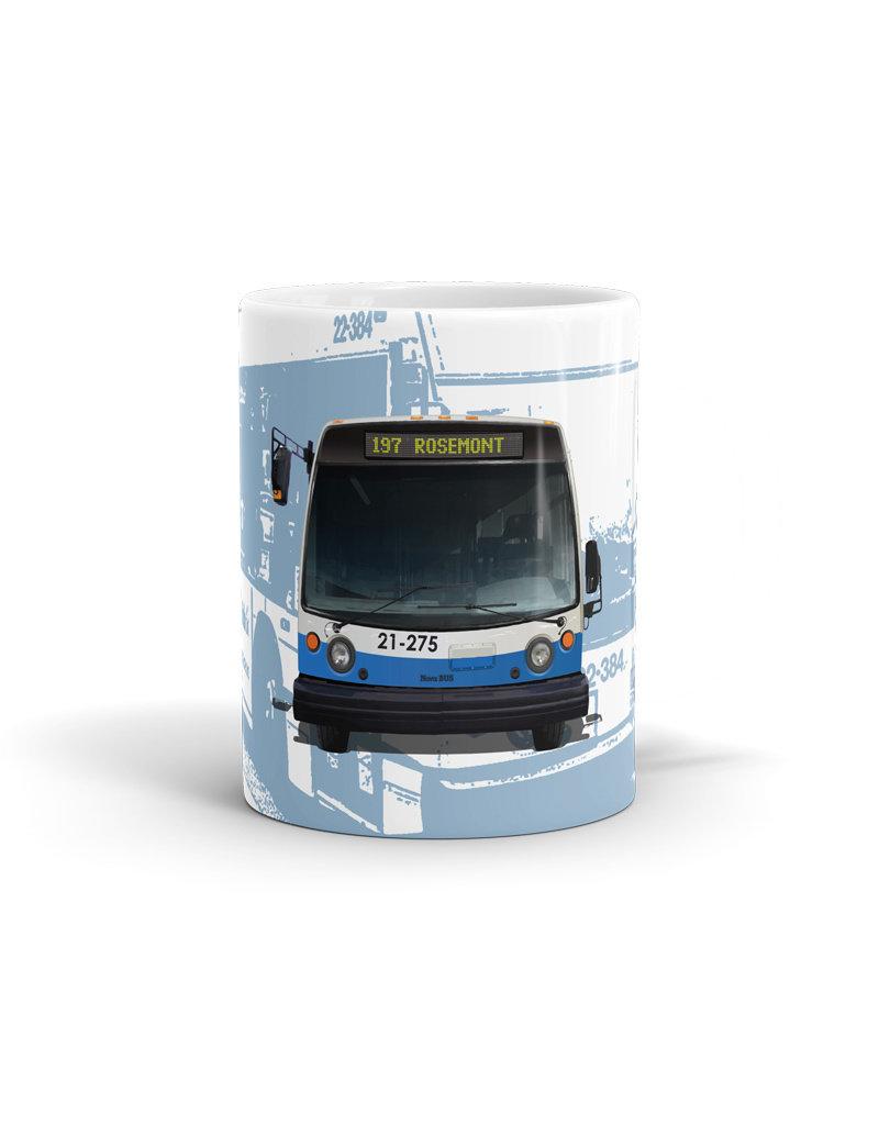 Tasse 11oz - Autobus NOVA - 197 Rosemont
