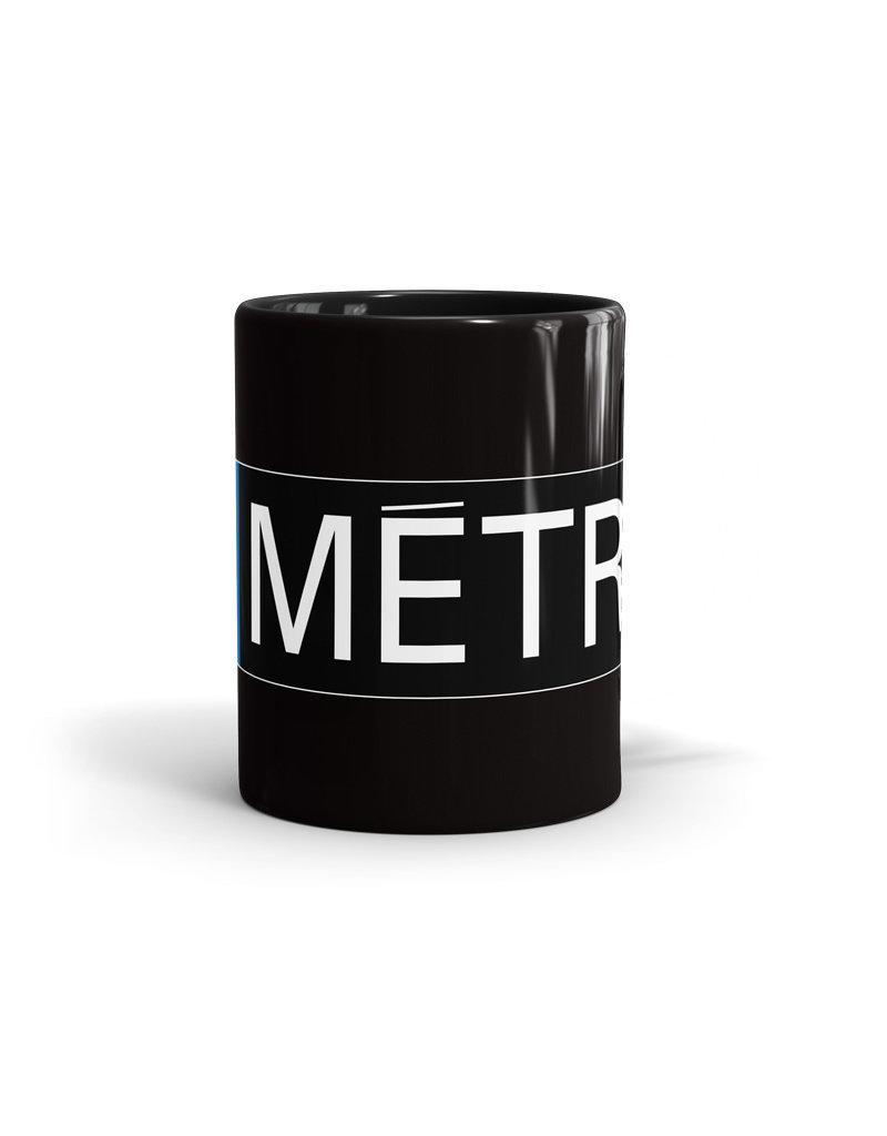 11oz CUP  - Metro logo