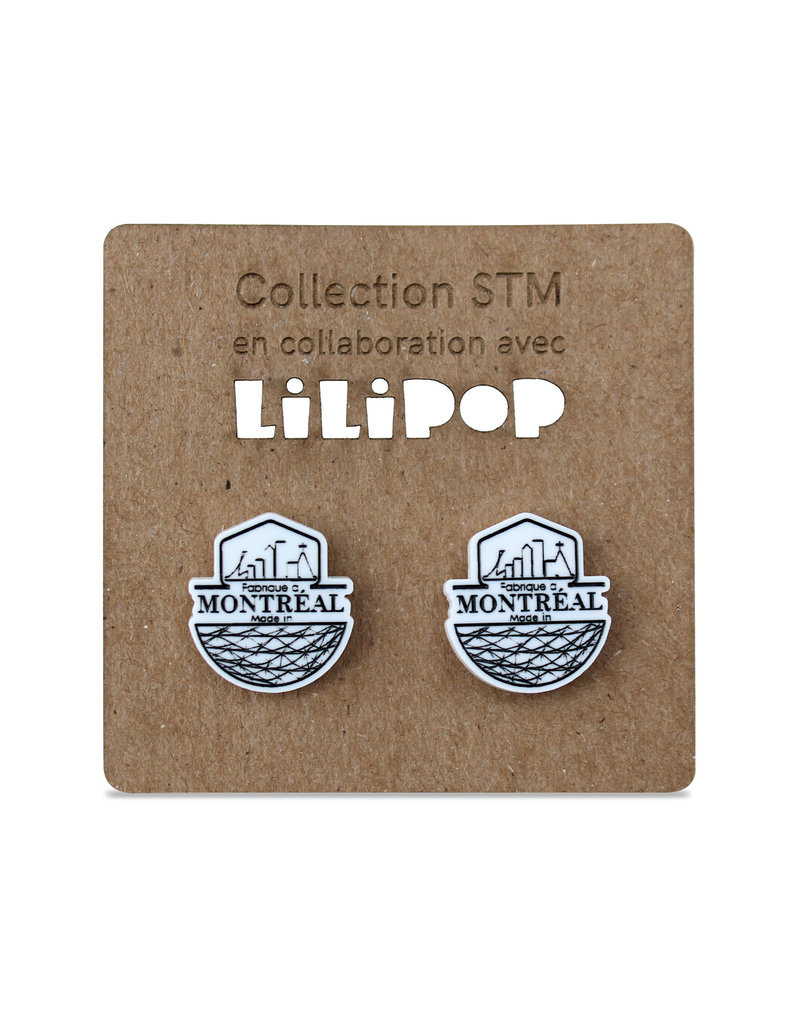 "Cufflinks - ""Made in Montreal"" logo"