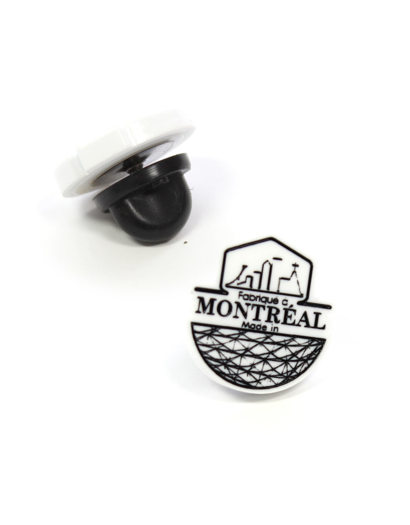 Pin - Made in Montreal logo