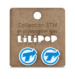 Boucles d'oreilles - Logo CTCUM