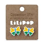 Earrings -  STM butterflies