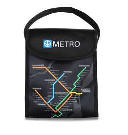 LUNCH BAG - Montreal Métro map / j'V mtl