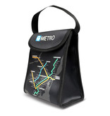 LUNCH BAG - Montreal Métro map / j'V mtl