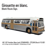 C.T.C.U.M. New Look brown Bus - Standard edition - 1/87 scale - #15-061