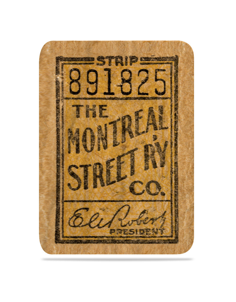 Blanket - The Montreal street RY Co. 891825