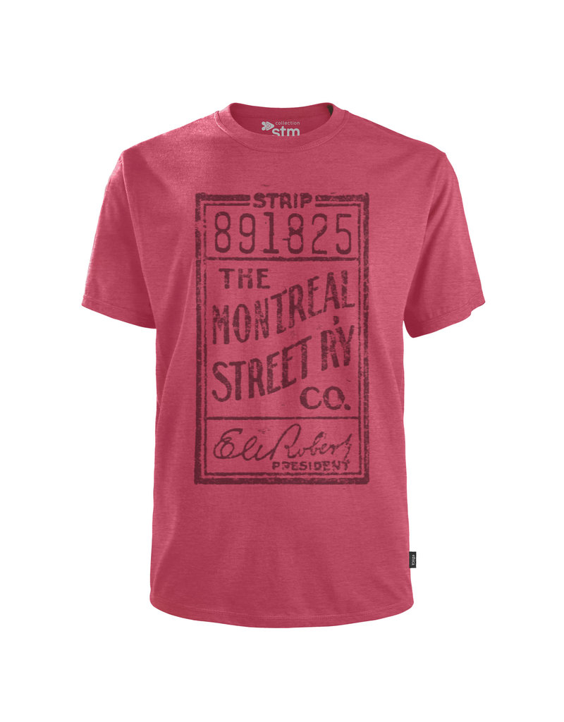 T-shirt - THE MONTREAL STREET RY CO.