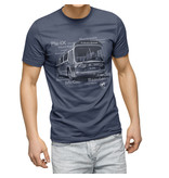 T-shirt - Autobus New look