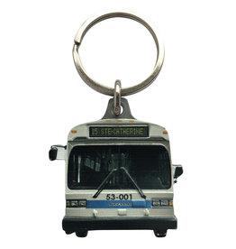 PORTE CLÉS - Autobus GM Classic (15 Ste-Catherine)