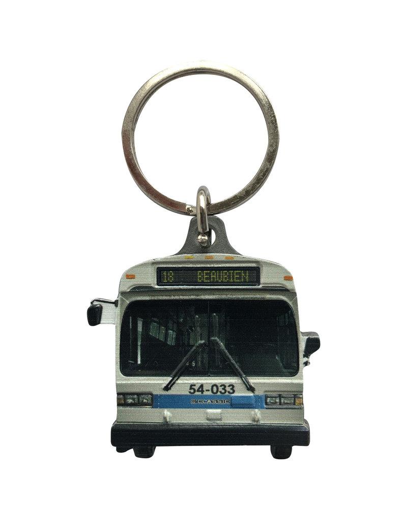 PORTE CLÉS - Autobus GM Classic (18 Beaubien)